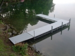 "Northern Lights 24' Dock with 16' ""L"" and Ramp"