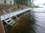 Northern Lights Aluminum Dock with Stairs