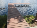 "30' Shoreside Trac Dock with 15' ""L"""