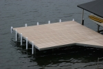 Shoreside Trac Dock - Moistureshield Decking