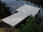8' x 8' Patio with 8' Ramp - Mod-U-Dock