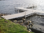 8' Ridgeline Ramp - Polymer Decking