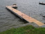 Floating Ridgeline Dock - Cedar Decking