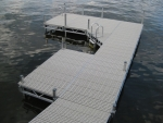 Ridgeline Stationary Dock - Polymer Decking