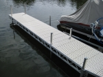 24' Ridgeline Dock - Polymer Decking