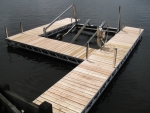 "Ridgeline ""H"" Dock - Cedar Decking"