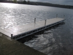 32' Straight Ridgeline Dock - Polymer Decking