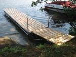 24' Northern Lights Dock with 3' x 6' Ramp - Cedar Decking