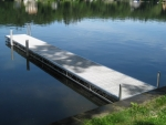 32' Northern Lights Rolling Dock - Thru-Flow Decking