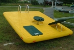 Otter Island - Yellow with Green Seats