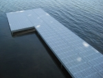 6' x 35' Shoreside Dock with 5' wide Patio - SureStep Decking