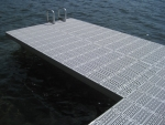 Shoreside Trac Dock with SureStep Decking