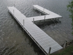 Aluminum Dock with Polymer Decking