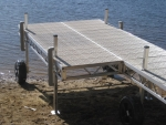 4' x 12' Patio Section - Polymer Decking