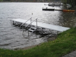 24' Northern Lights Dock with Stairs